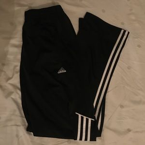 men's adidas black sweatpants